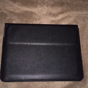 Accessories - Faux Leather Laptop Sleeve